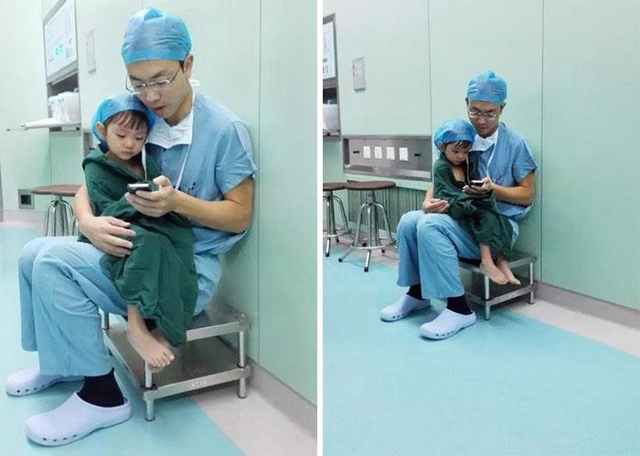 cirujano-shi-zhuo-calma-nina-antes-operacion-corazon-china (2)