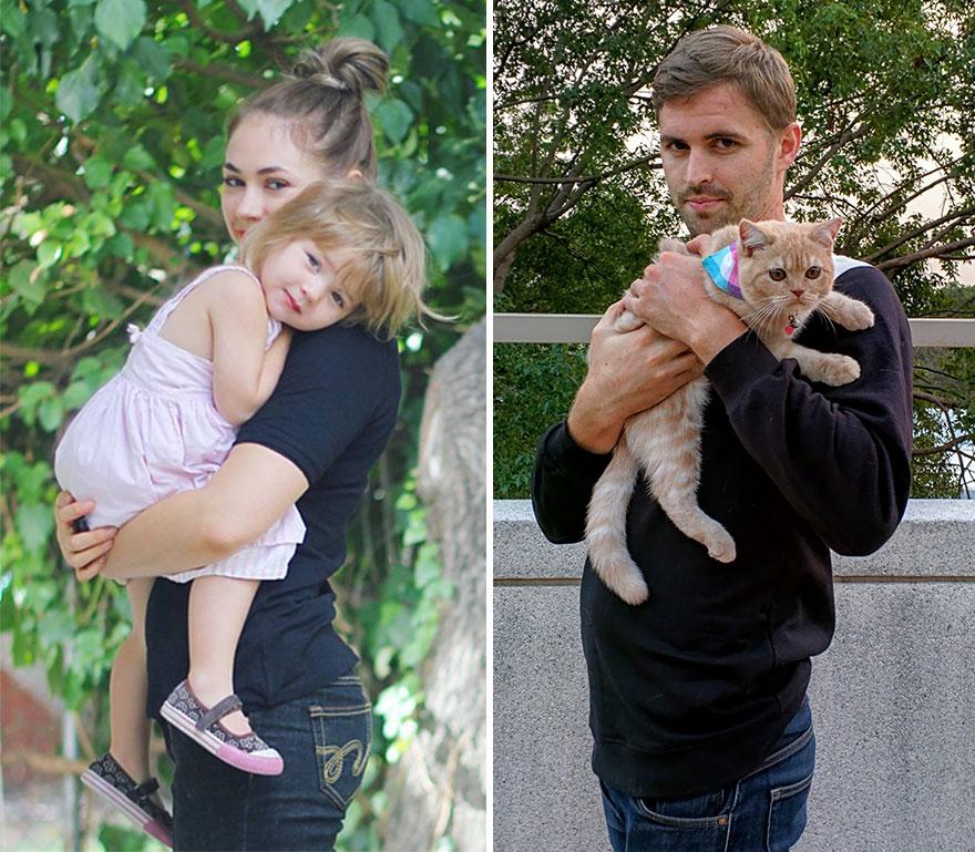 chico-soltero-recrea-fotos-de-su-hermana-utilizando-un-gato-gordy-yates (6)