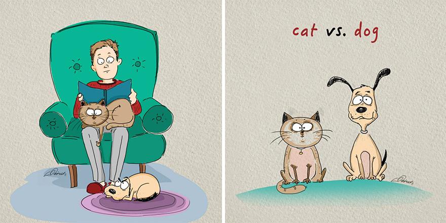 ilustraciones-diferencias-gatos-perros-bird-born (4)