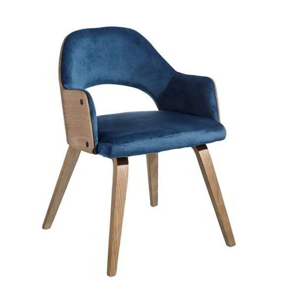silla-azul-madera-comoda