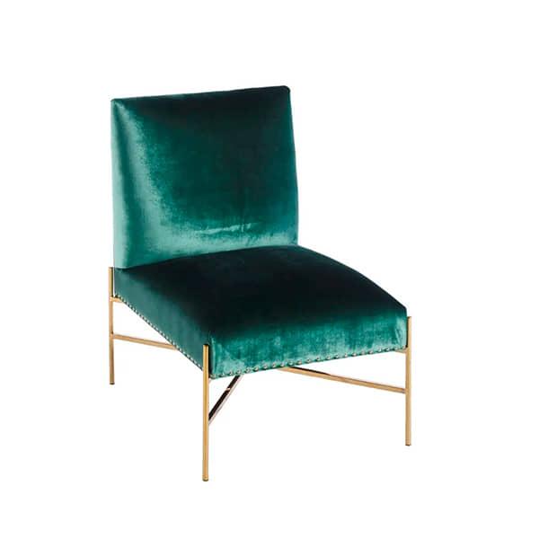 sillon-verde-acero-diseño-comodo