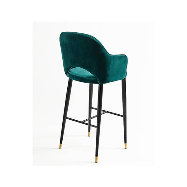 banqueta-verde-terciopelo-diseño-compra-online
