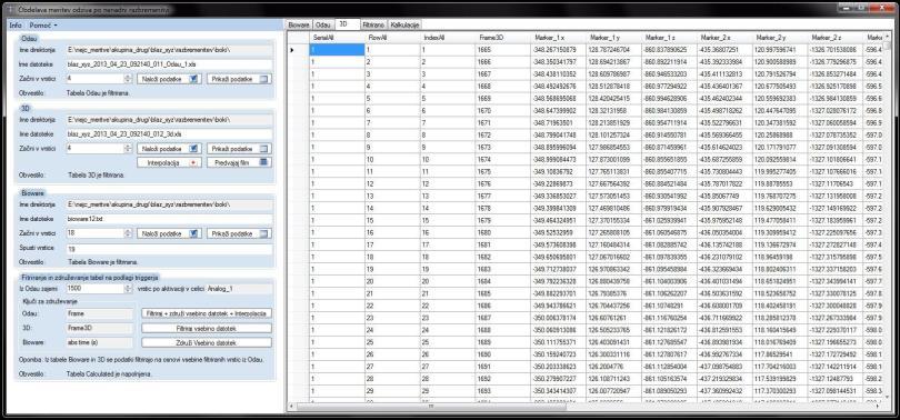 Slika 8: Prikaz vsebine datoteke
