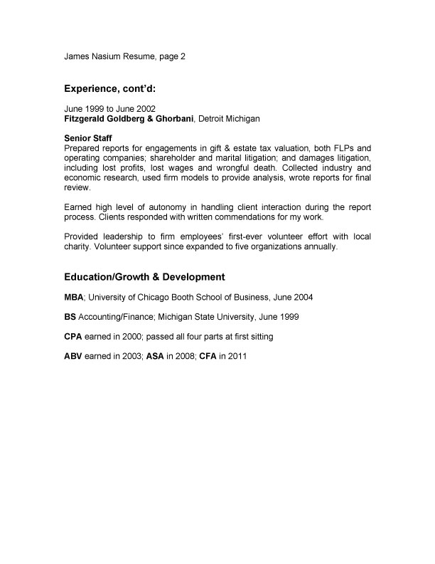 Paragraph-Resume-Example-page-two Borrowman Baker, LLC