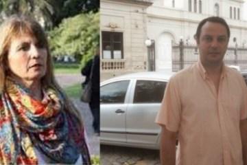 Concejales Viviana Bratschi y Francisco Ratto