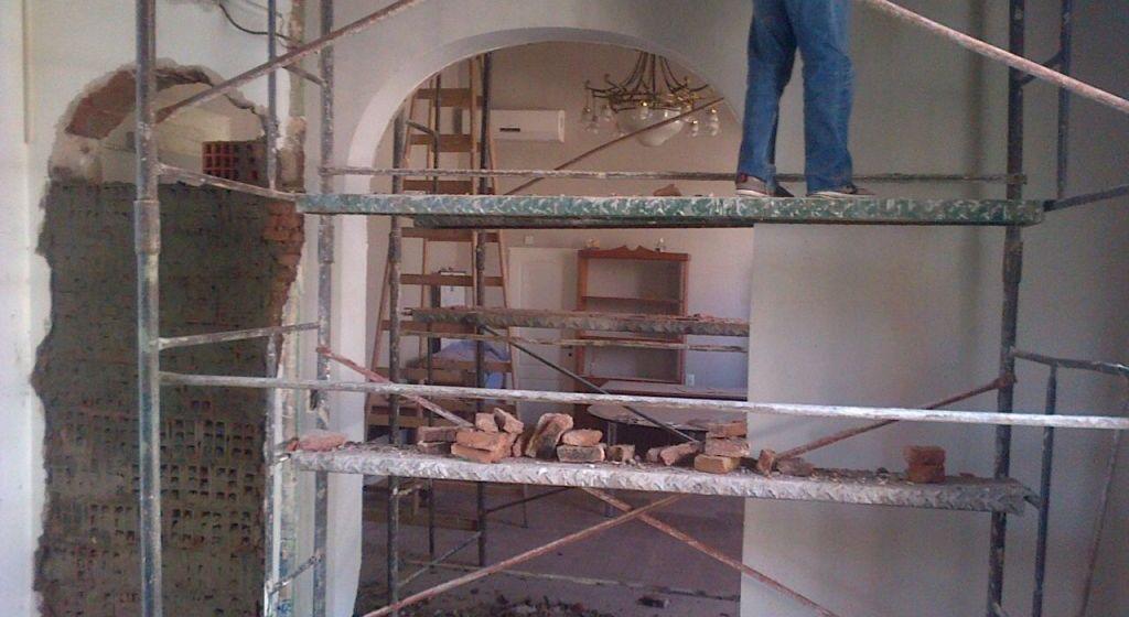 Remodelaciones en el despacho Municipal