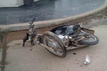 Accidente en Moreno y San Martín