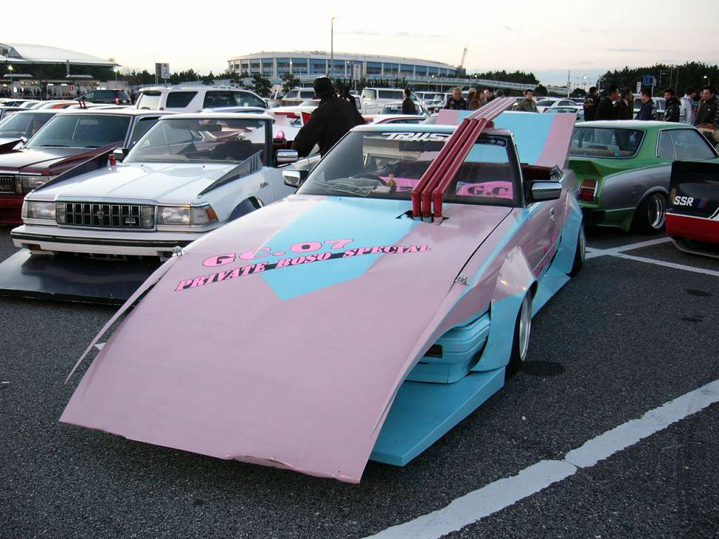 Custom Old Cars Wallpaper Exhaust Of The Week Bosozoku Style
