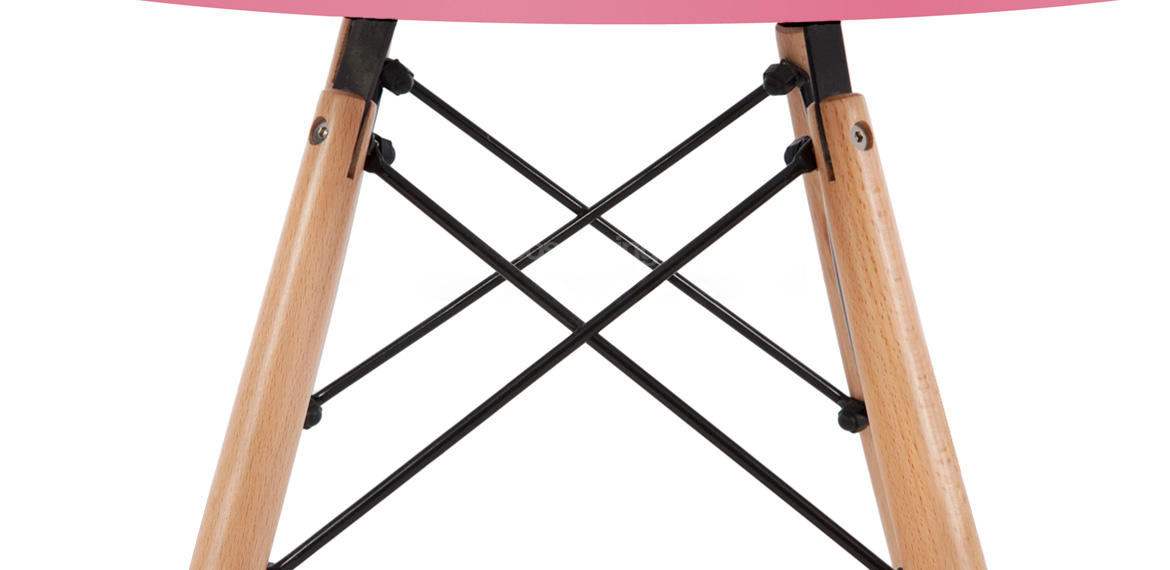 Kids Set Eames Dsw Style Pink Table 2 Chairs Boss