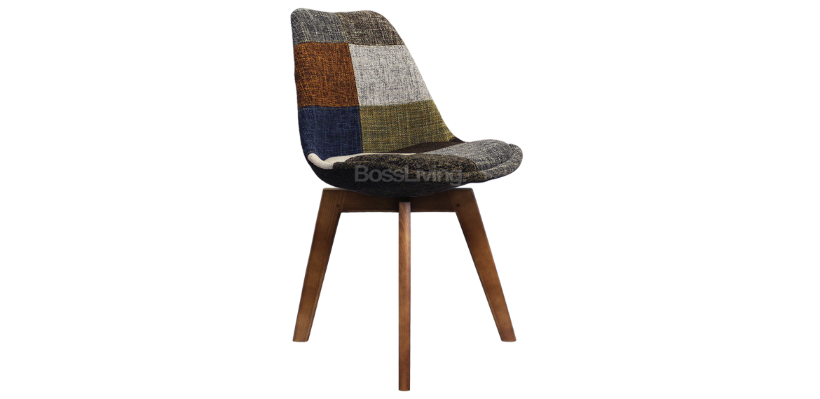 Eames Inspired Chair I Dsw Squared Walnut Stain