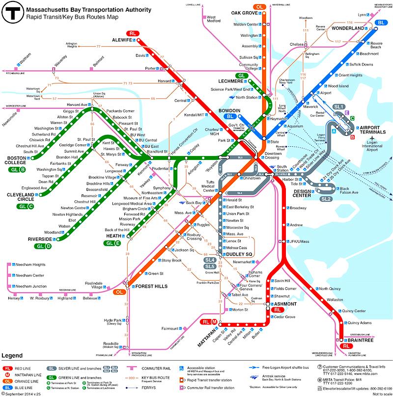 Boston Subway - The \