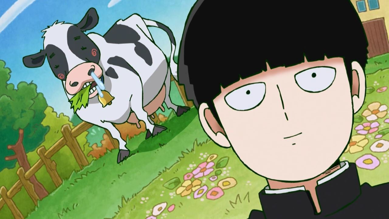 Dimple Girl Wallpaper Anime Review Comedic Esper Insanity Rises In Mob Psycho