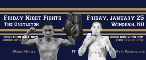 Boxing Windham NH January 25 tickets event
