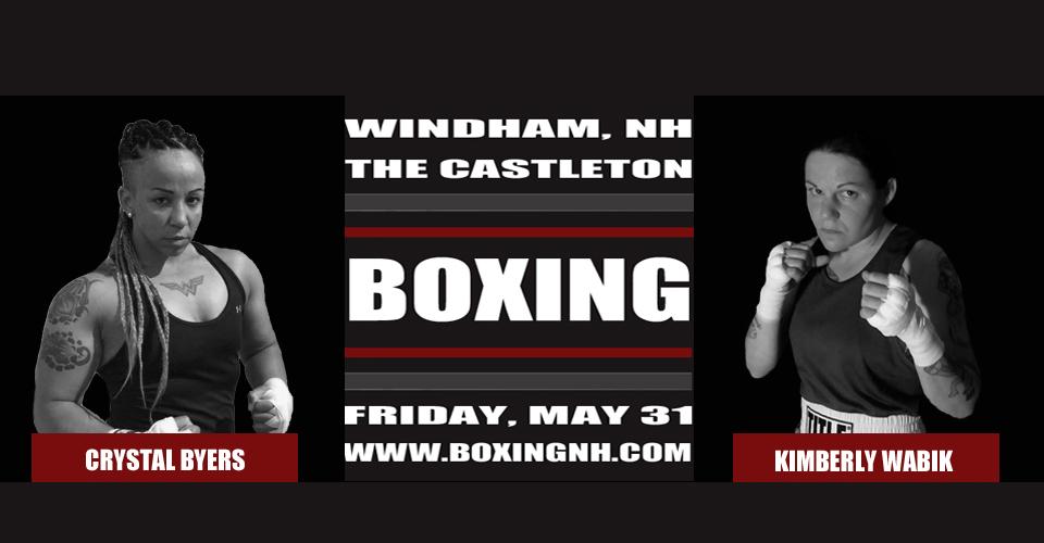 Boxing Windham NH May 31 Castleton Rim Hampton April 12 event tickets