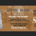 Travis Gambardella Revere boxing Nashua NH Scars Foundation Sully Erna Godsmack August 16 tickets event