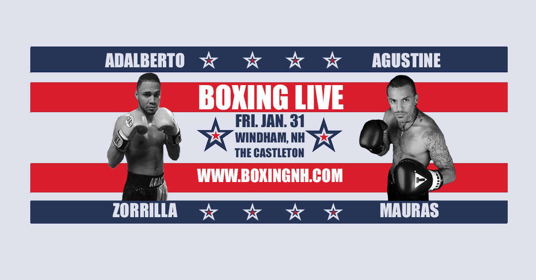 Boxing Windham NH Castleton January 31 tickets event