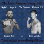 Boxing NH Castleton Windham Somersworth Derry Londonderry Golden Gloves tickets event July August 6