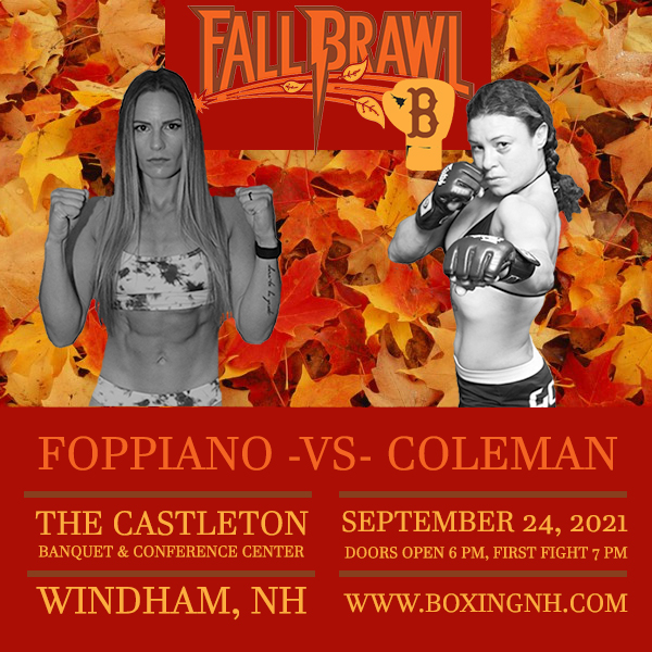 Boxing Windham NH Dedham MA September 24 tickets event
