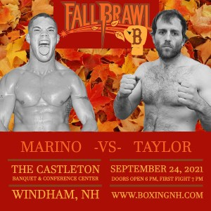 Boxing September 24 Windham NH Dedham MA tickets event