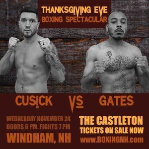 Thanksgiving Eve Boxing Spectacular tickets event November 24 Windham NH Castleton