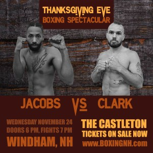 Thanksgiving Eve Boxing Spectacular Windham NH November 24 tickets event