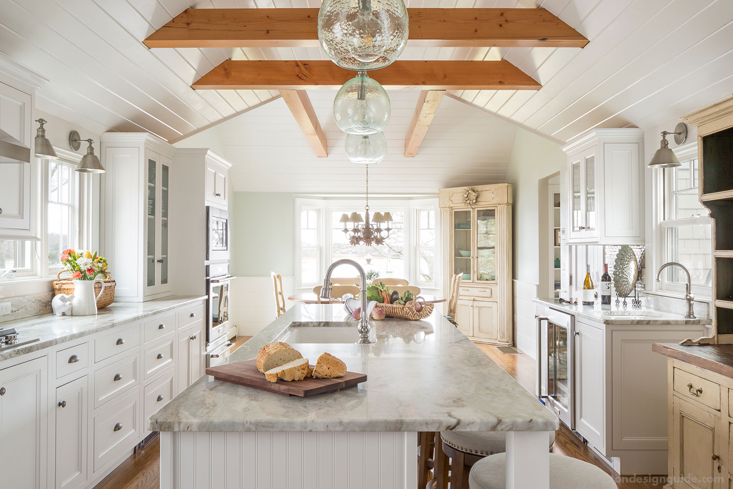A Cape Cod Cottage Style Kitchen39s New Look Boston
