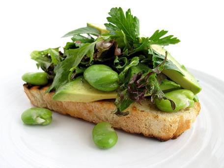 Paleo Fava Bean Salad