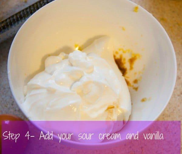 Lemon Pound Cake with Cream Cheese Glaze - Boston Girl Bakes