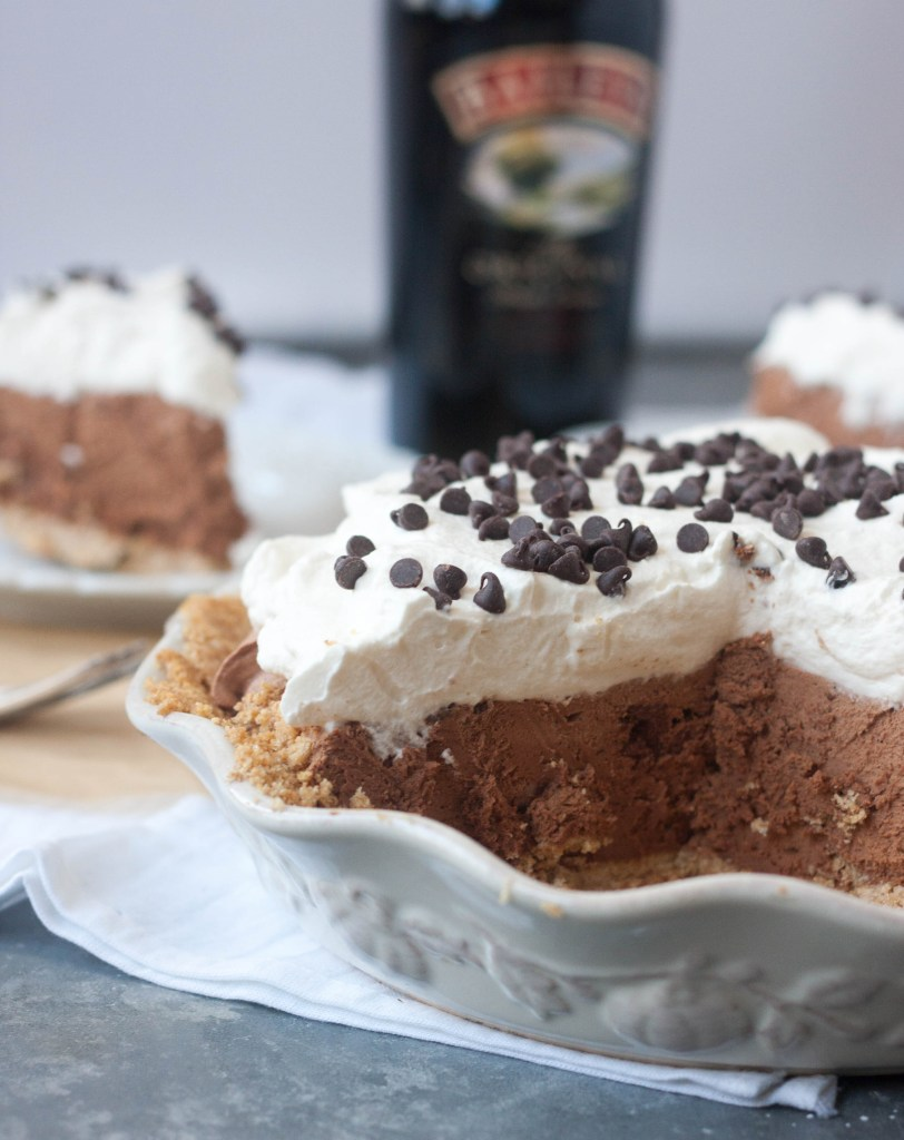 Bailey's Chocolate Cream Pie