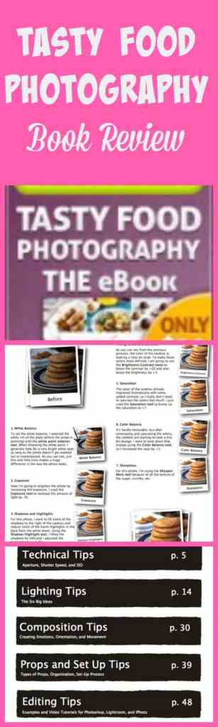 This is my honest review of the Tasty Food Photography Book from Pinch Of Yum!