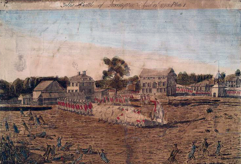 The Aftermath of Lexington and Concord Lexington  Concord 1775