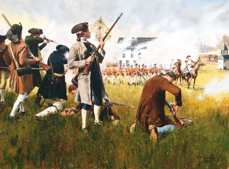American Revolutionary War Artist Don Troiani