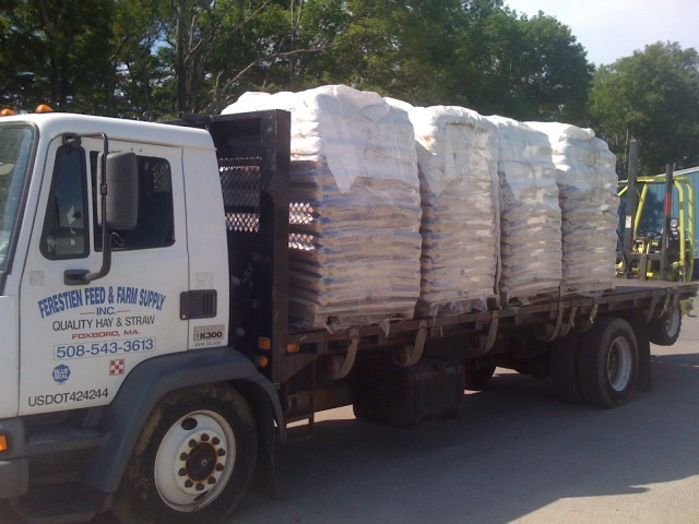 wood pellet delivery Boston