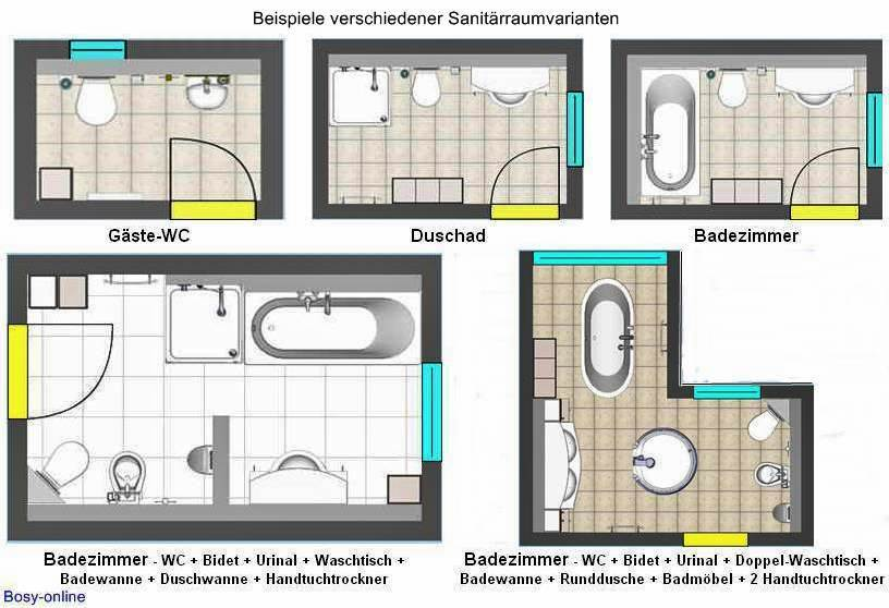 Installationsmaße, Damit Alles Passt   Badezimmer A Plan