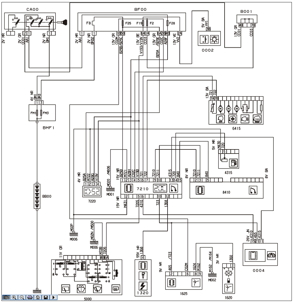 citroen workshop wiring diagram