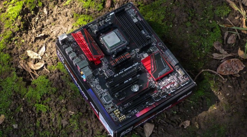 ASUS 970 PRO GAMING / AURA Motherboard, review