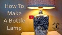How To Make A Bottle Lamp Steps