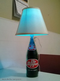 Assorted Bottle Lamps and Lighted Bottles By Donald   How ...