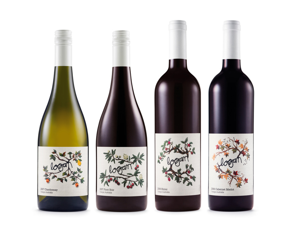 Label Love Logan Wine\u0027s Embriodered Labels - wine label