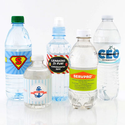 Guide to Buying Water Bottle Labels