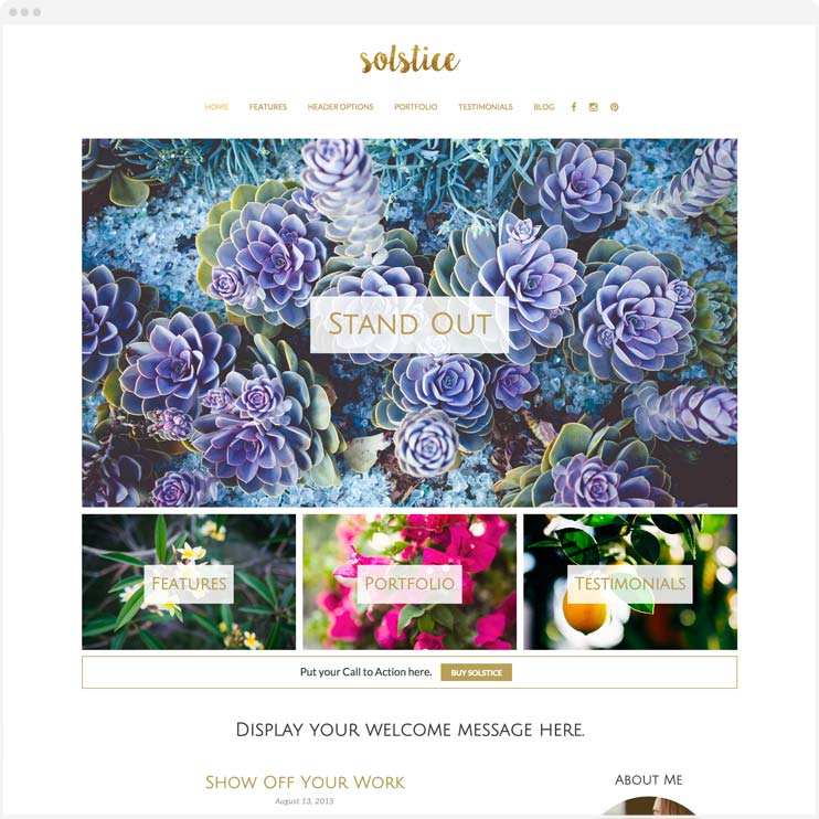 Solstice » Bottomless Themes » Responsive WordPress themes