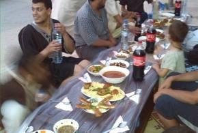 افطار جماعي في حي الانصار  ببوسعادة