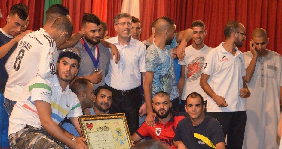 بلدية بوسعادة تكرم البطل العالمي زكريا موفق