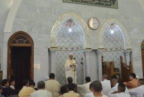 خطبة عيد الاضحى المبارك للشيخ مصطفى بن شهرة أمام مسجد بلحطاب بوسعادة