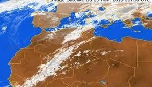 مصالح الأرصاد الجوية تحذر من اضطراب جوي ابتداء هذا اليوم السبت الى غاية التاسعة ليلا