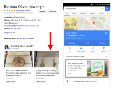 The Guide To Google Posts For Google My Business | Bounteous