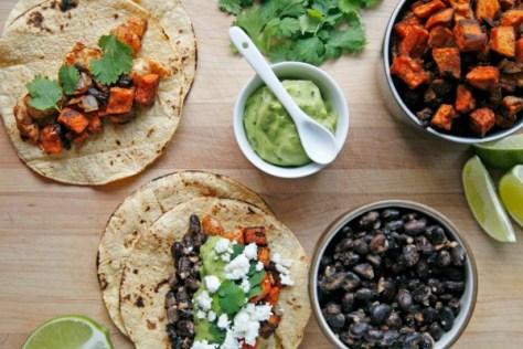 Black Bean Tacos With Fresh Peach Salsa Recipes — Dishmaps