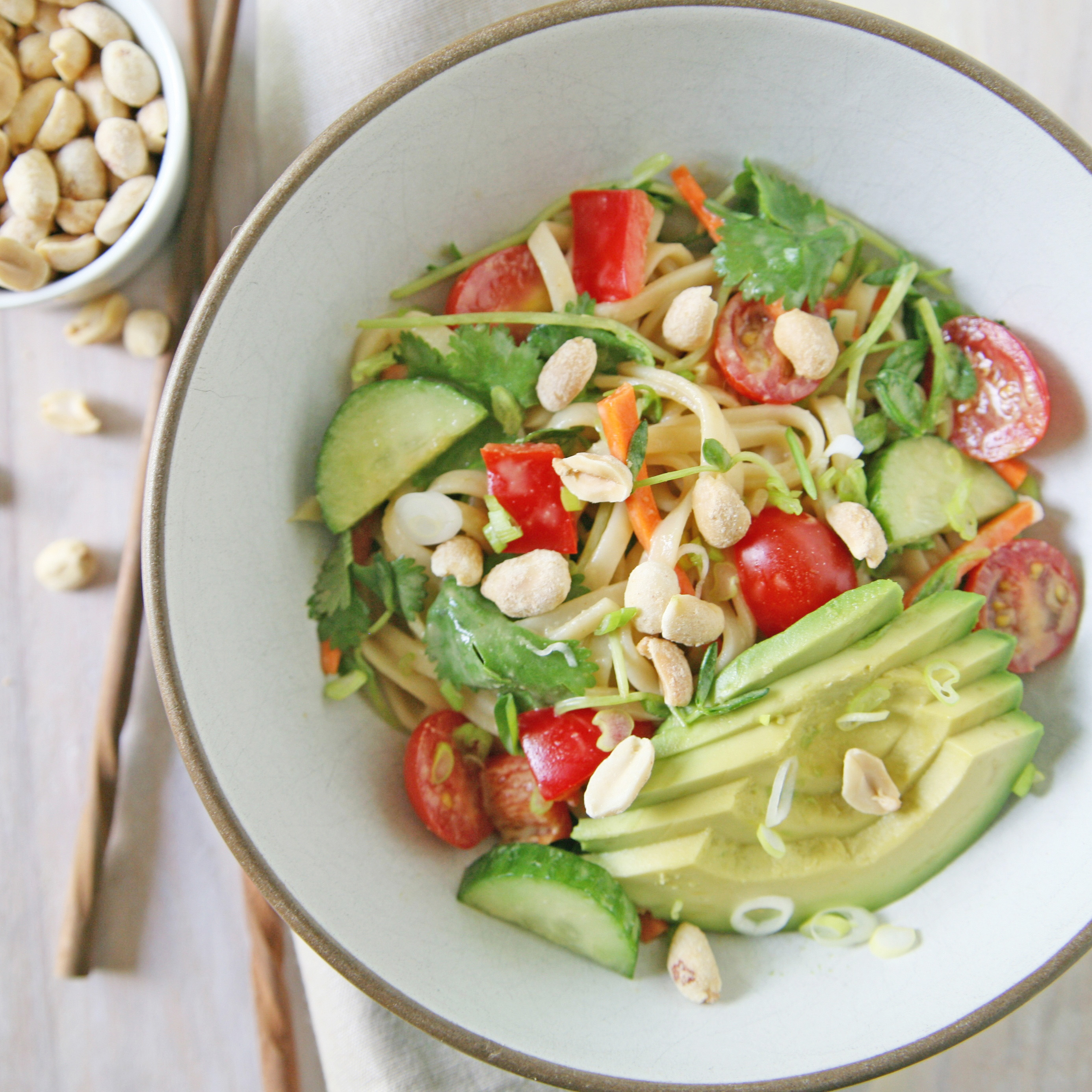 Lazy Day Peanut Noodle Salad Recipes — Dishmaps