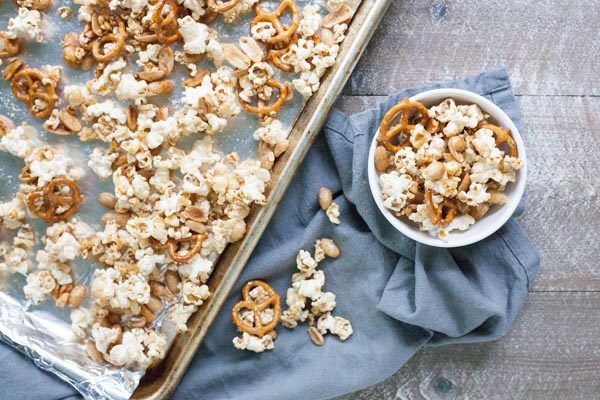 Bourbon and Honey Caramel Corn