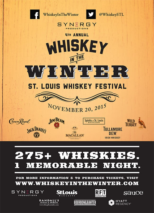 Whiskey in the Winter Invite Image